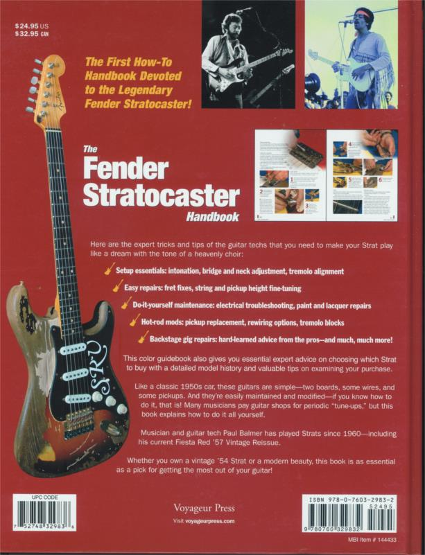 Fender Strat Stratocaster Guitar Hot Rods Wiring Book